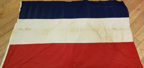 Large Vintage Netherlands Flag