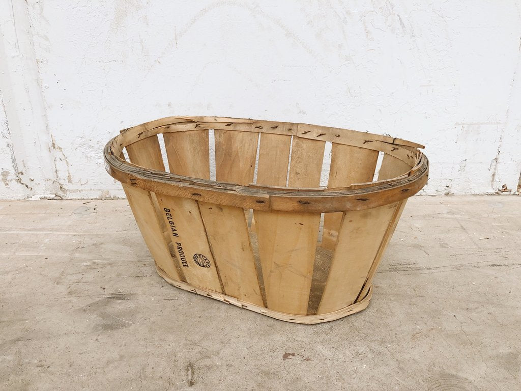 Belgian Produce Basket