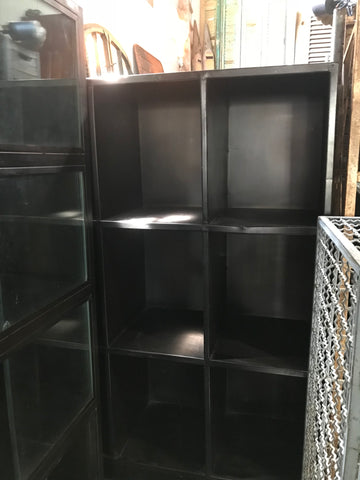 Black Metal Shelf Unit