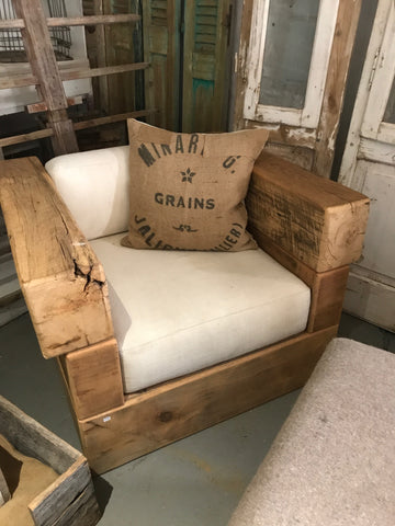 Barn Wood Beam Chair