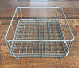 Small Zinc Wire Stackable Basket