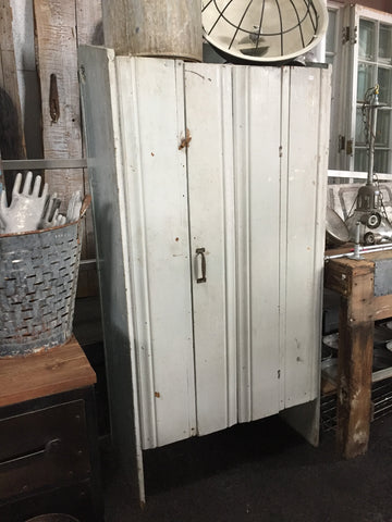 White Wood Hutch