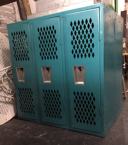 Blue Metal Lockers