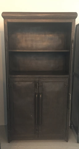 2 Doors 2 Shelves Metal Cabinet