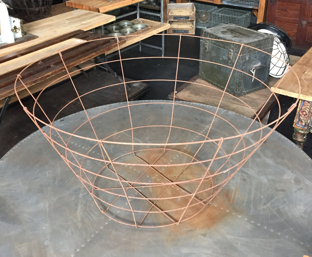 Large Wire Farm Basket