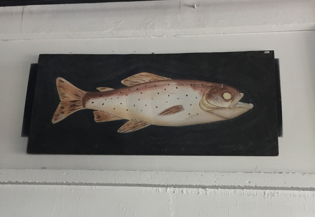 Fish Painting on Metal