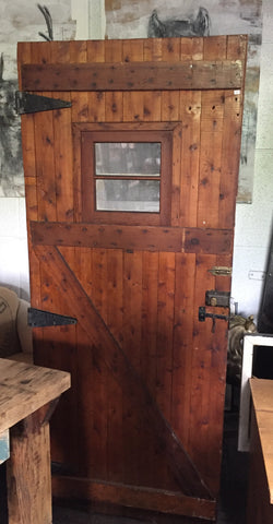 Log Cabin Door