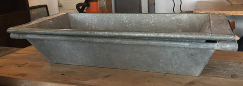 Galvanized Trough Sink