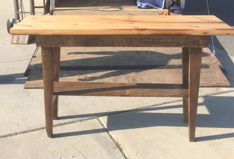 Wood Sofa Console/Entrance Table