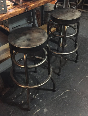 Metal Swivel Stools