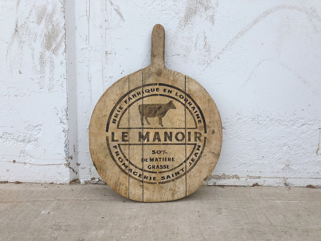 Small Stenciled French Bread Board