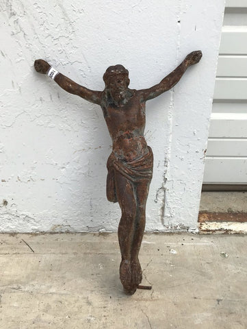 Rusty French Crucifix
