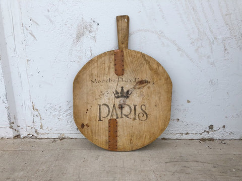Medium Stenciled French Bread Board