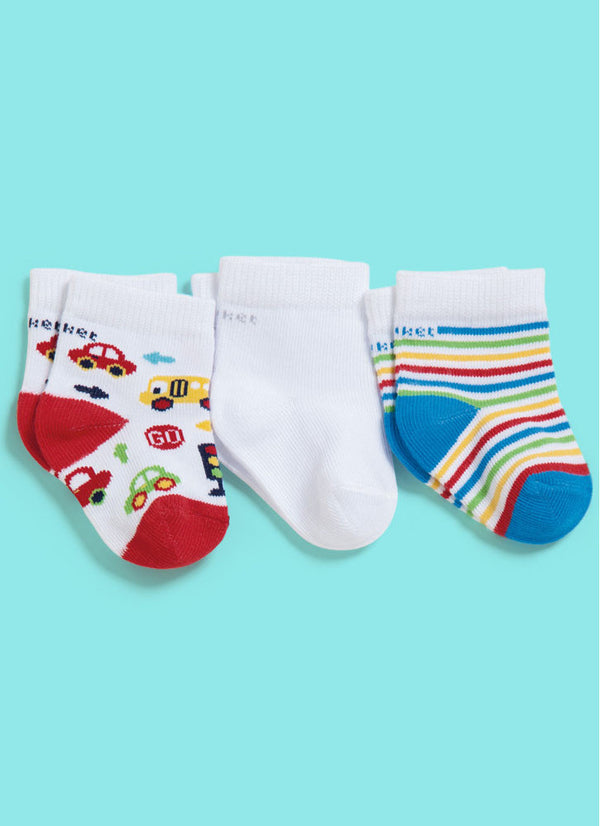 Tripack Boys - Regular Socks
