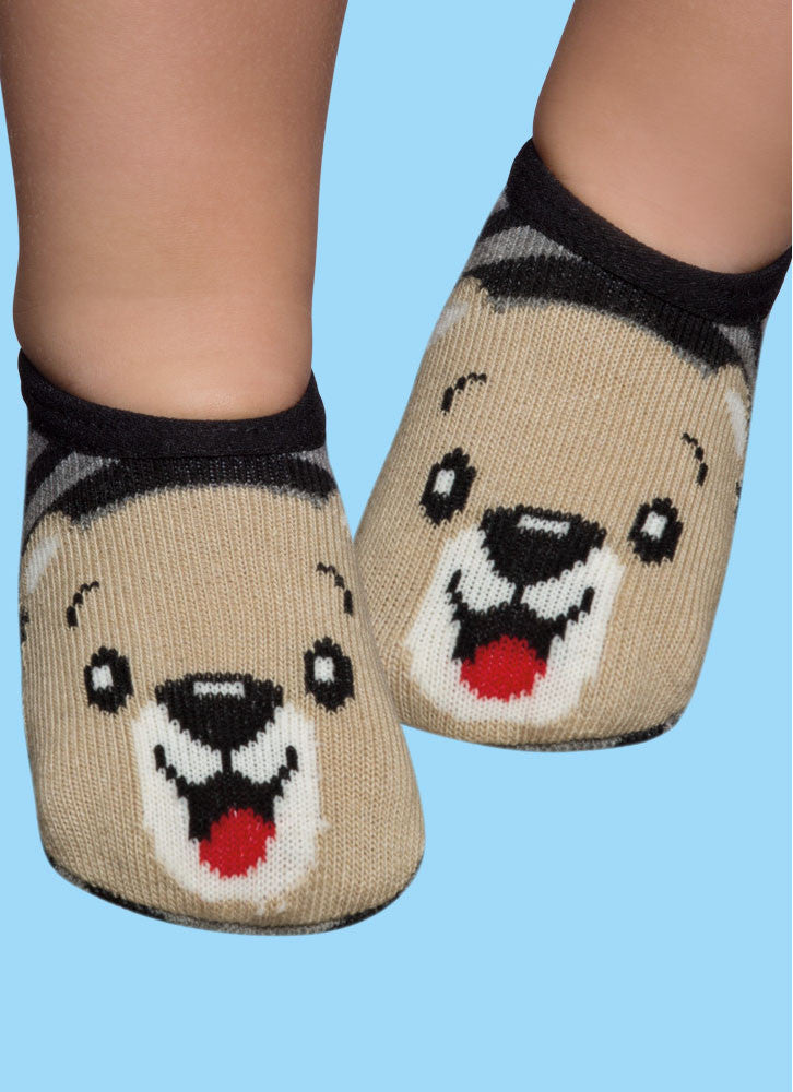 Grey Bear - Non-Slip - Slippers
