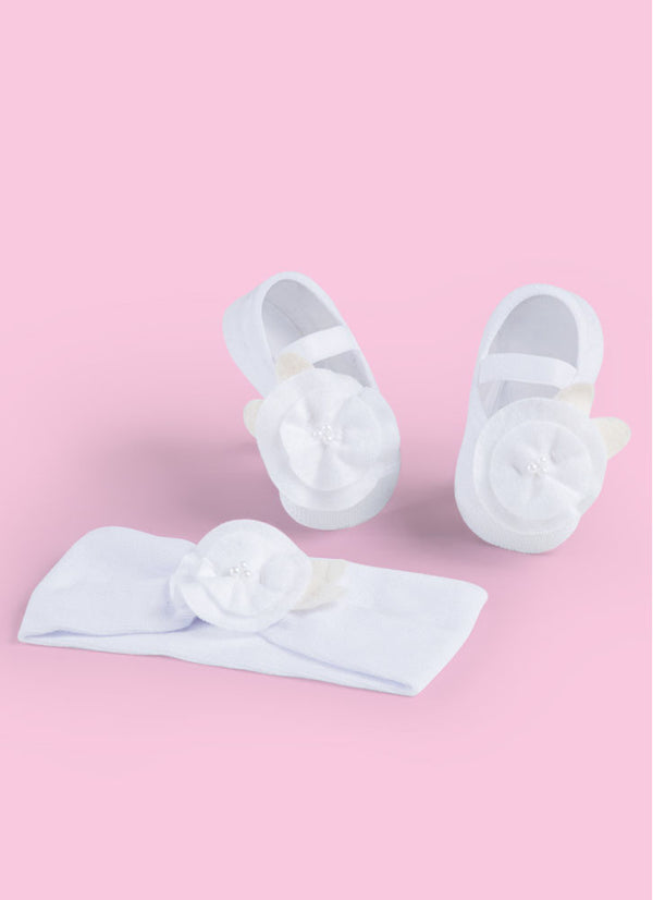 SET Ballerina + Hairband White