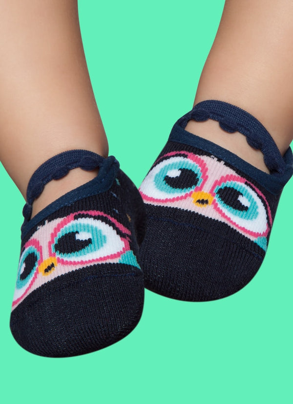 Mom & Daughter - Owls - Non-Slip