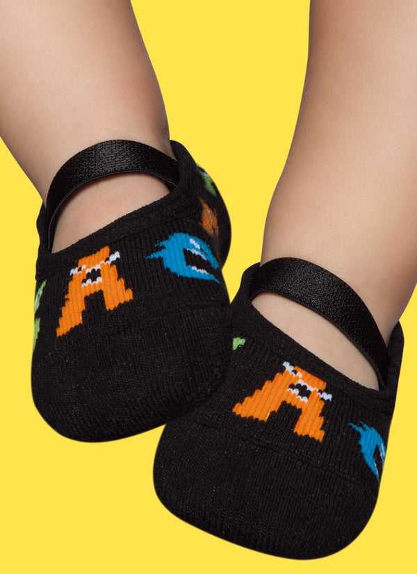 Monster Letters - Non-Slip - Slippers