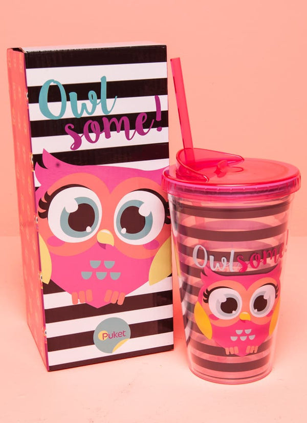 "Cup Owl ""Some"""