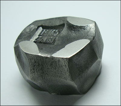 Hand forged BUNCHIN Paper Weight