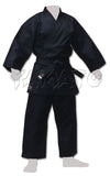 Black Medium Weight Ninjutsu Gi Set