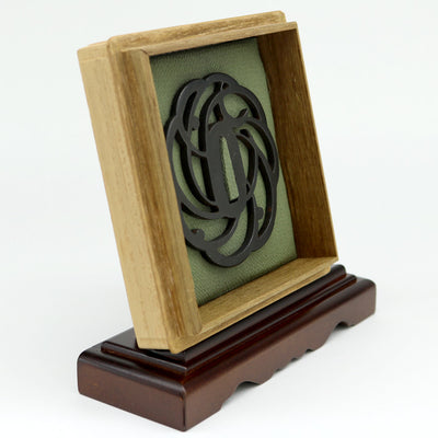 Deluxe Tsuba & Box Display Stand