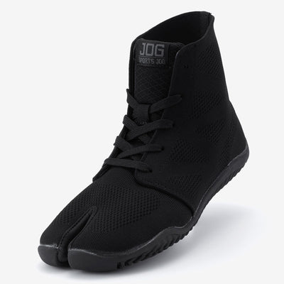 "Sport Jika Tabi ""JOG"" Black Samurai Shoes"