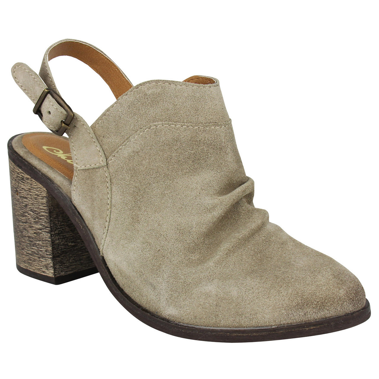naughty_monkey_Arizona - Taupe_pump_casual