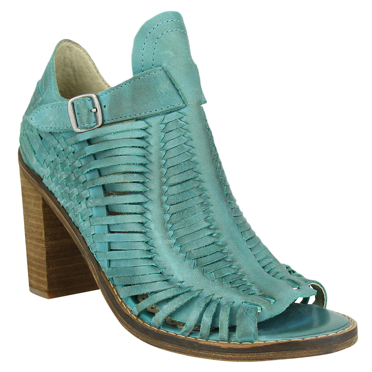 naughty_monkey_casual_pump_stacked-heel-peep_toe_women_Killion_Turquoise