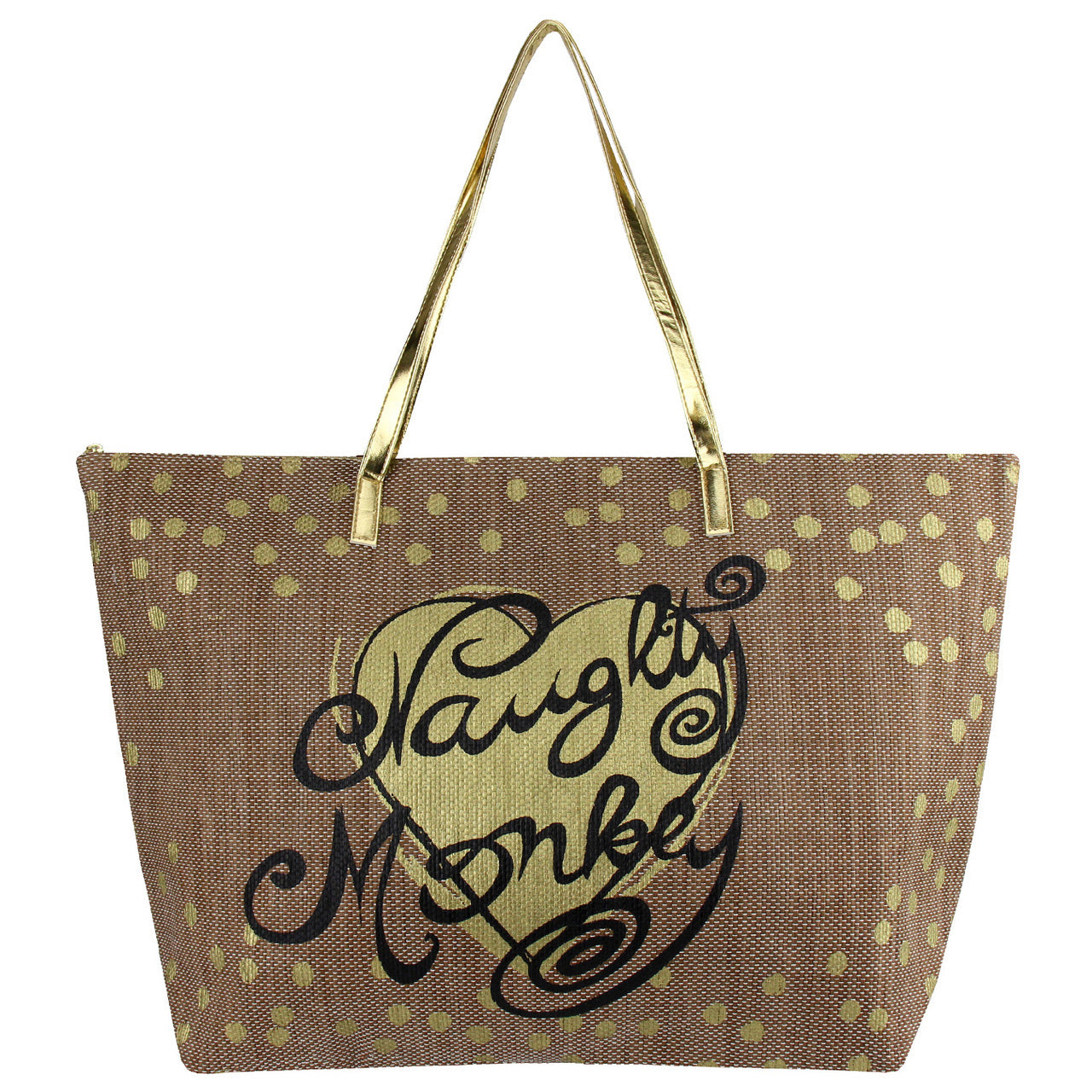 Naughty Monkey Tote Bag
