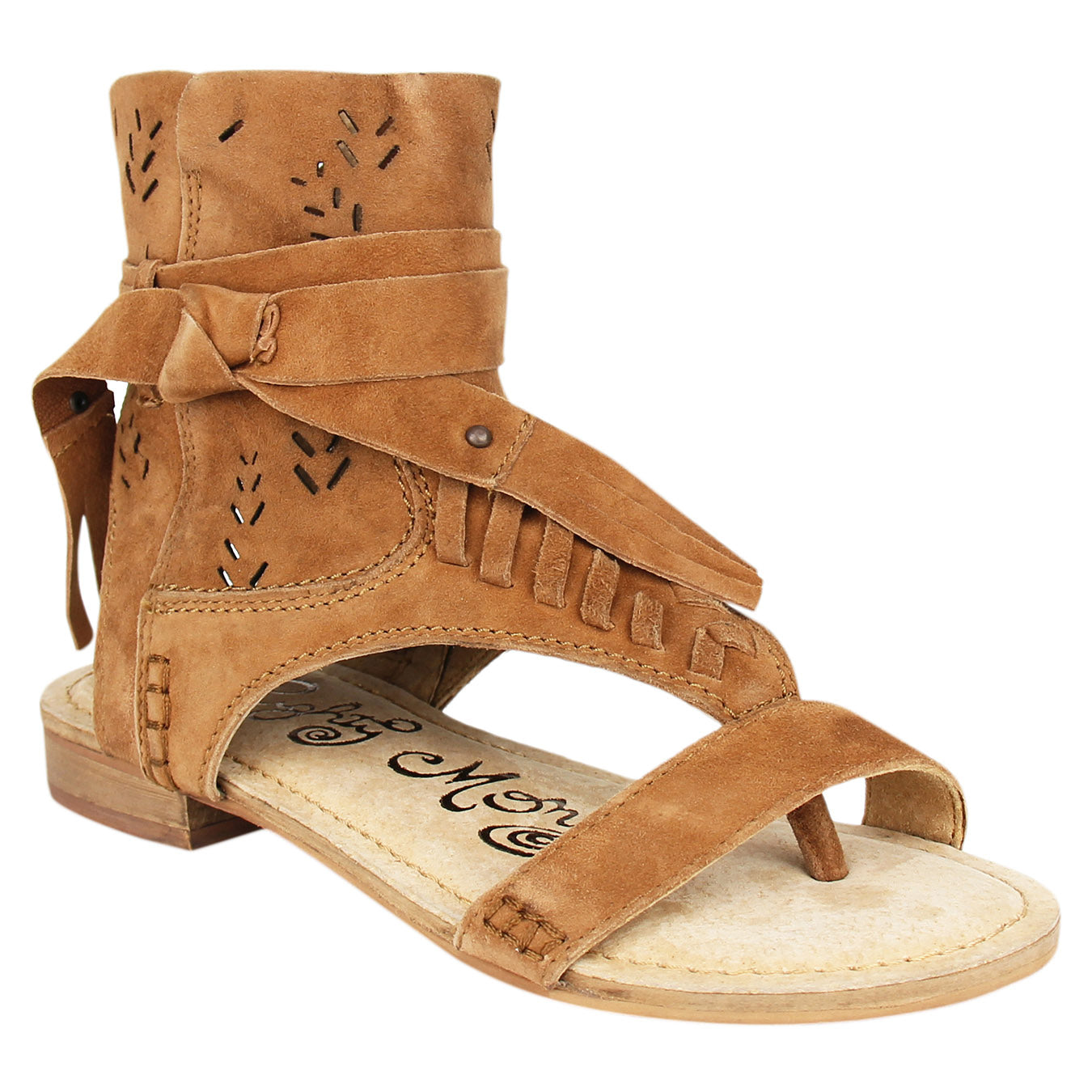Naughty_Monkey_Sandal_tan_leather_Cochise