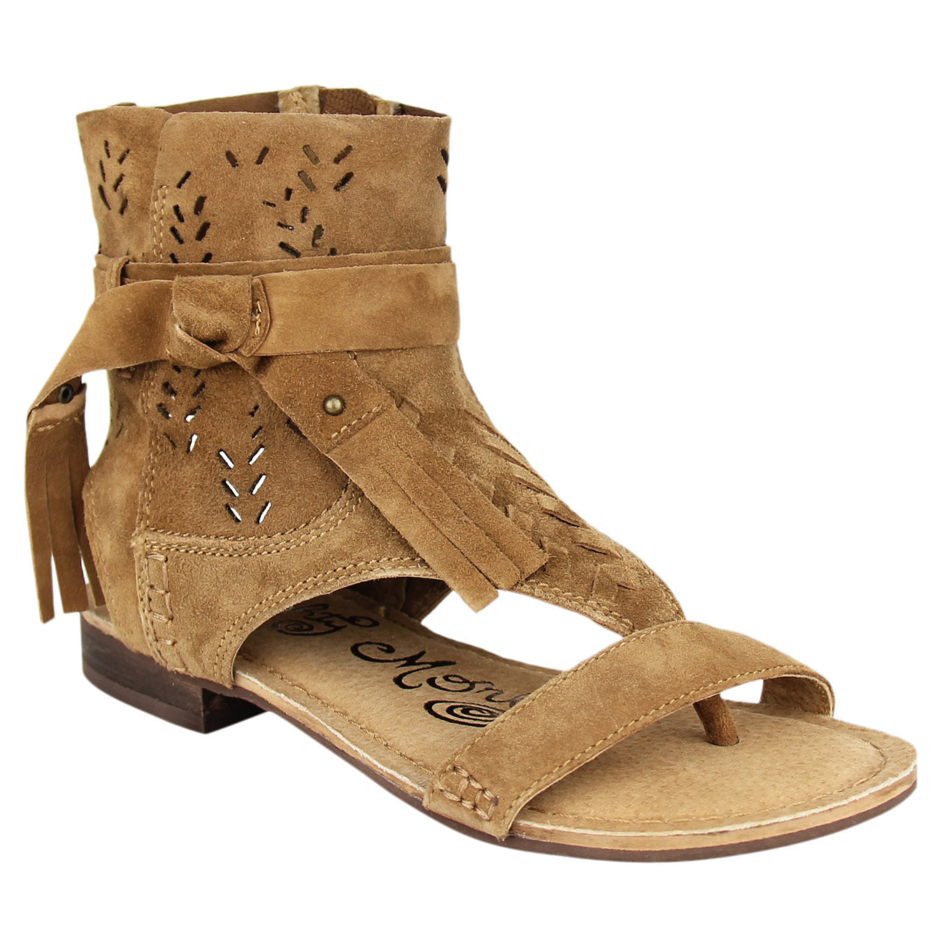 Naughty_Monkey_Sandal_taupe_leather_Cochise