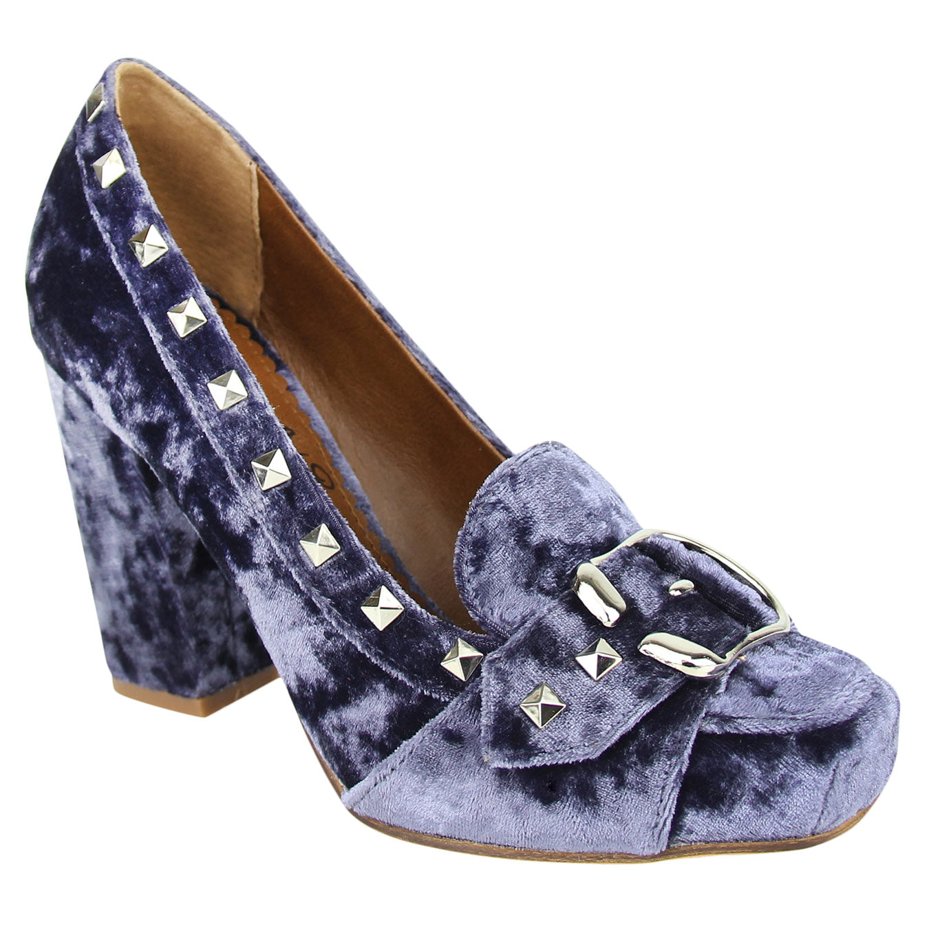 naughty_monkey_pump_heel-velvet_studs-buckle_pin_up_women_navy