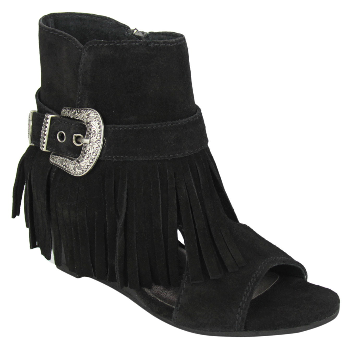 NAUGHTY_MONKEY_FRINGE_WESTERN_WEDGE_BLACK_LROY