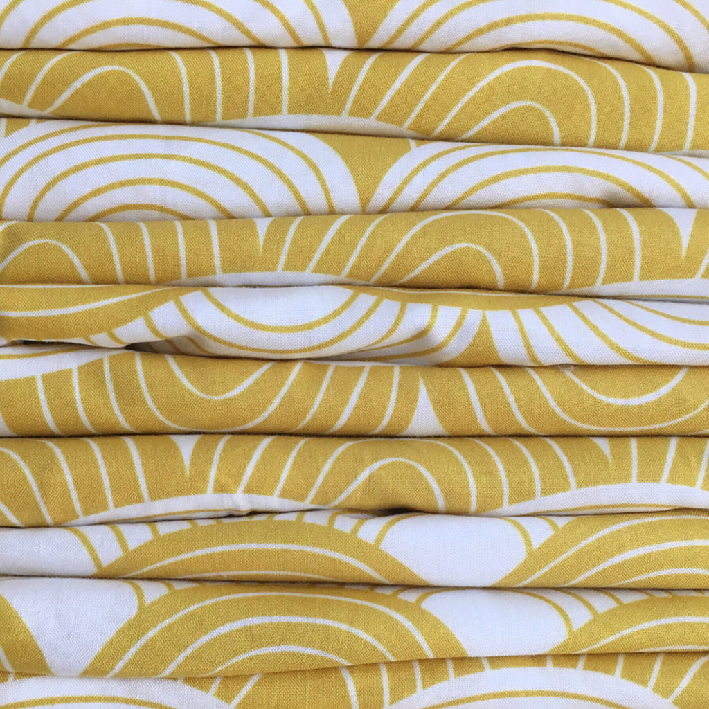 mustard yellow sheets