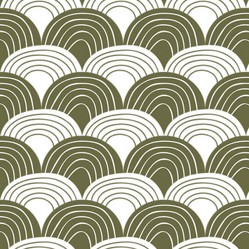 RAINBOWS | Olive green | 70x100cm | Multipurpose sheet