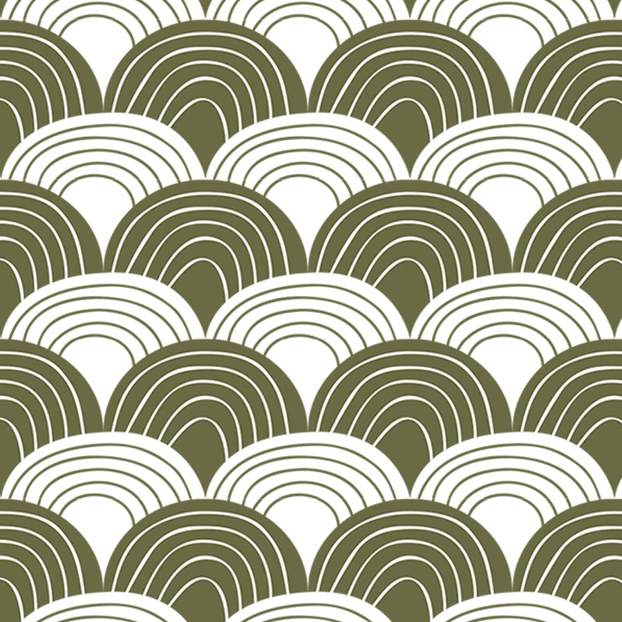 RAINBOWS | Fitted sheet | 80x160cm / 31.5x63"