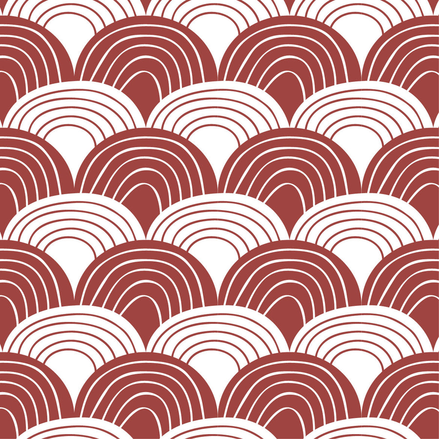 RAINBOWS | Double fitted sheet | 140x200cm / 55x79"