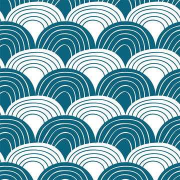RAINBOWS | Moroccan blue | 70x100cm | Multipurpose sheet