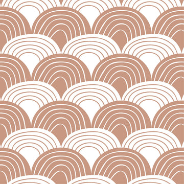 RAINBOWS | Terracotta pink | 40x80cm/ 15.7x31.5