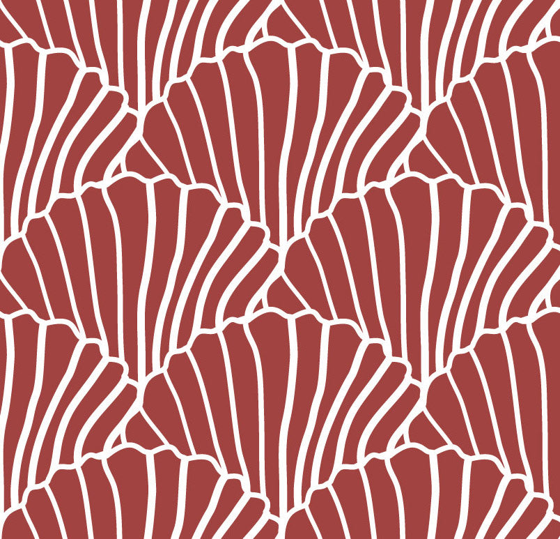 NEW! SEASHELLS | Double fitted sheet | 160x200cm / 63x79"