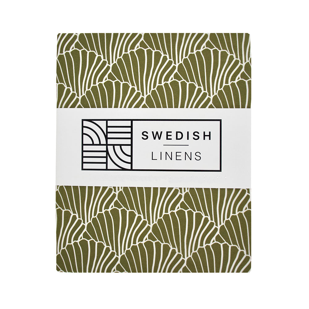 NEW! SEASHELLS | Double fitted sheet | 180x200cm / 71x79"