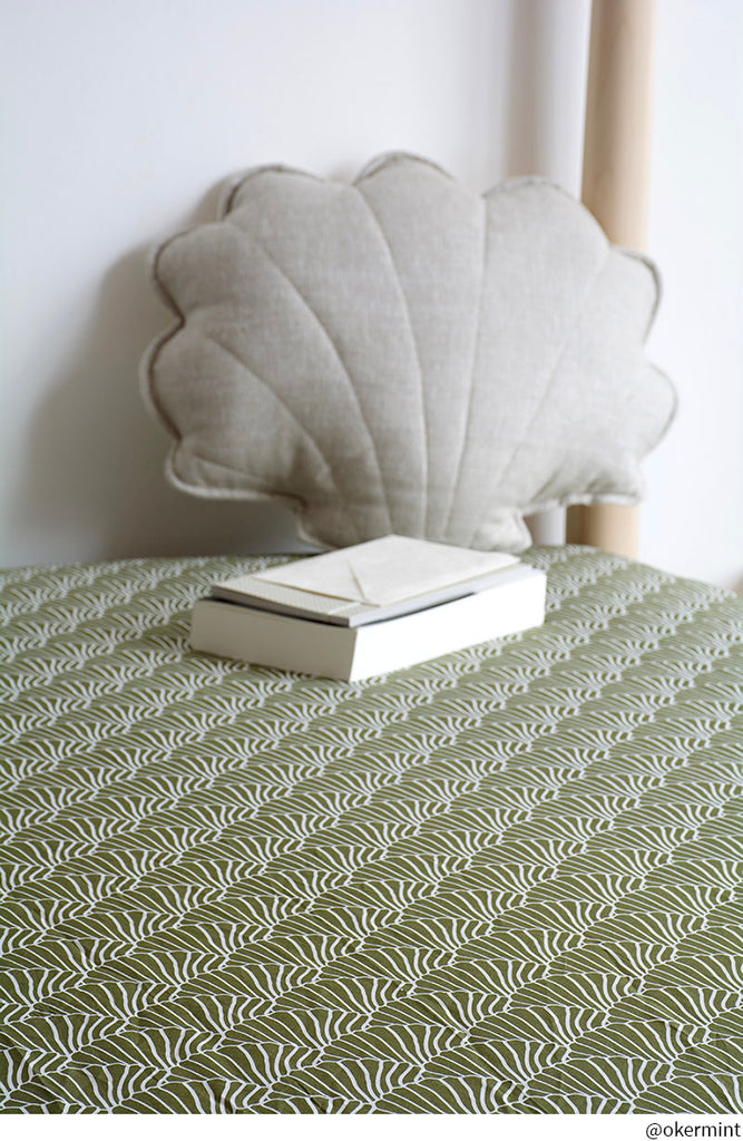 SEASHELLS | Small double/ three-quarter/ doubter | 120x200cm / 47x79"