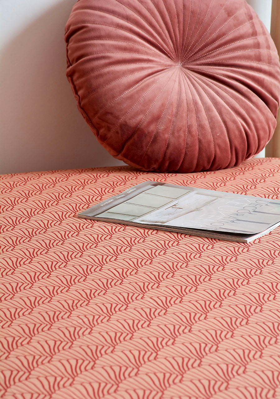 SEASHELLS | Fitted sheet | 100x200cm / 39.3x78.7