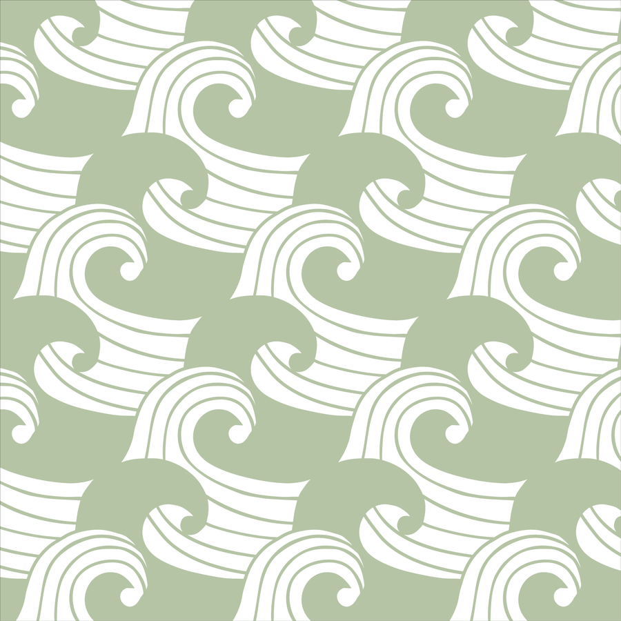 WAVES | Fitted sheet | 40x80cm / 15.7x31.5"