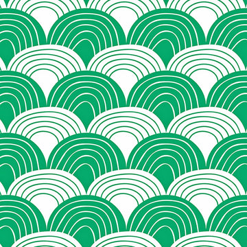 RAINBOWS | Pine green | 70x100cm | Multipurpose sheet
