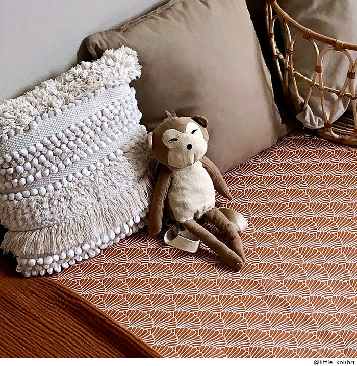 NEW! SEASHELLS | Fitted sheet | 60x120cm / 23.5x47"