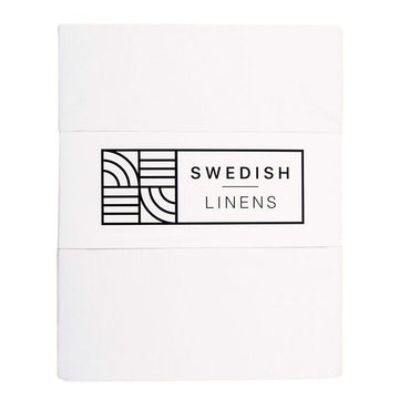 STOCKHOLM | Crispy white | 90x200cm | Fitted single sheet