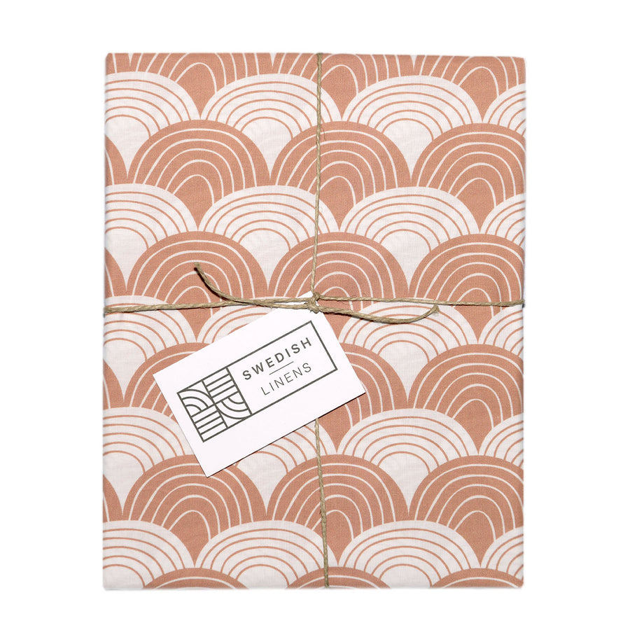 RAINBOWS | Terracotta pink | Pillowcase | 50x75cm / 19.6x29.5
