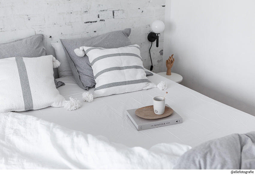 STOCKHOLM | Double bed sheet | 180x200cm / 71x79"